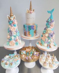 PLAN YOUR PARTY WITH US On Instagram Unicorn X Mermaid Crossing How Do U Like The Result Cakes From Taartjevanlot