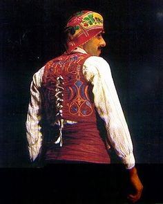 Greek bridegroom's costume from Cyprus. (Collection of the Cyprus Folk Art Museum). Greek Traditional Dress, Traditional Outfits, Black Sea, Folk Costume, Cyprus, World Cultures, Fashion History, Art Museum, Greek Costumes