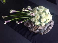 White Floral Arrangements, Unique Flower Arrangements, Funeral Flower Arrangements, Unique Flowers, Floral Bouquets, Grave Flowers, Funeral Flowers, Funeral Tributes, Wedding Stage