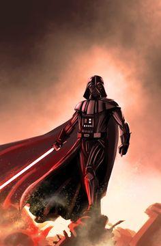 Anakin Vader, Vader Star Wars, Darth Vader, Star Wars Images, Marvel Comics Art, Star Wars Fan Art, Last Man Standing, Star War 3, Animation Reference