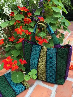 Directions for a handwoven tote bag | ArgoKnot - complete weaving and tote construction instructions