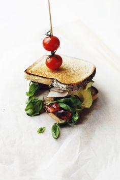fancy sandwich {yum}