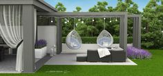 Garten - Vorgärten eingang - - home / haus . Modern Pergola, Outdoor Pergola, Pergola Plans, Pergola Kits, Outdoor Decor, Cheap Pergola, Backyard Patio Designs, Pergola Designs, Backyard Landscaping
