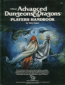 The Advanced Dungeons and Dragons Players Handbook. #ADnD or #dnd was the gateway for many players to the wider gaming world!