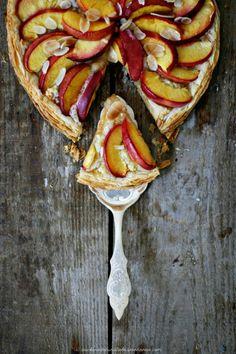 Nektarinen Pistazien-Frangipane « Zucker, Zimt und Liebe