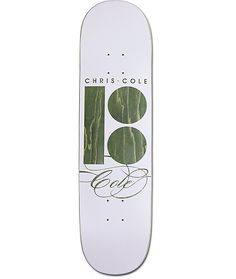 "Grab the new Signature Cole 8.25"" Skateboard Deck and celebrate the legend's recent welcome to the Plan B skate team. Chris Cole's pro model deck is constructed with Plan B's innovative PROSPEC design, featured with thicker top plys, thinner bottom plys,"