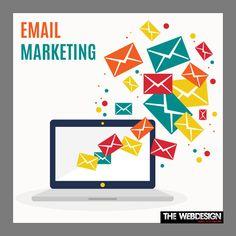 #TheWebDesign #EmailMarketing diensten kan u helpen betrouwbare relaties met klanten te bouwen.