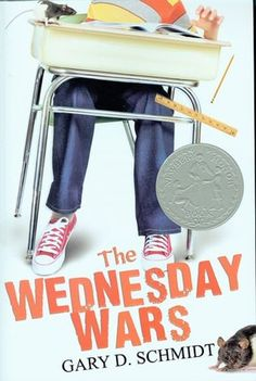 The Wednesday Wars - light, comical read. Another good one to read aloud to kids.