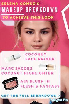 Selena Gomez Makeup Tutorial Breakdown to Achieve this Look!   #SelenaGomez #Makeup #Beauty