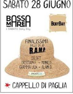 Domani sera non mancate alla finale R.A.M.P. alla Festa Capello di Paglia del Beky Bay #IgeaMarina.