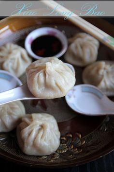 Xiao Long Bao and sauce (steamed soup dumplings).
