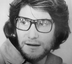 Yves Saint Laurent en 1970  Photo Jacques Violet