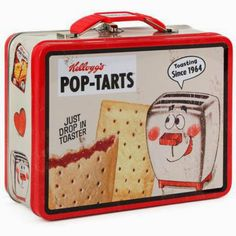 Carry your lunch in this retro metal lunch box with vintage Pop-Tarts® art. This lunch box will add a little pop to your lunch and day. Retro Lunch Boxes, Lunch Box Thermos, Cool Lunch Boxes, Metal Lunch Box, Lunch Bags, School Lunch Box, Whats For Lunch, Vintage Tins, Vintage Style