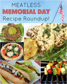 Meatless Memorial Day Recipe Roundup! | The Fit Foodie Mama