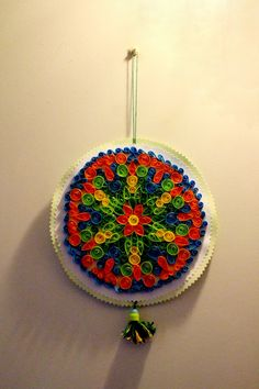 mandala Quilling, Crochet Earrings, Mandala, Jewelry, Fashion, Bedspreads, Jewlery, Moda, Jewels