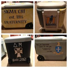 Sigma Chi cooler I made!