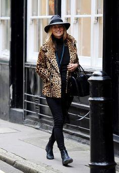 Kate street style - leopard love