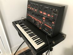 MATRIXSYNTH: ARP 2600 1970's Black / Orange