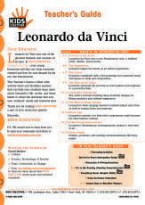 Free Lesson Plans Archive | Leonardo Da Vinci | KIDS DISCOVER