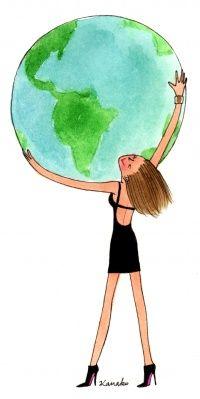 Emportez votre monde autour du globe, et partagez le avec vos rencontres de voyage. @My Little Paris #voyage #Evaneos