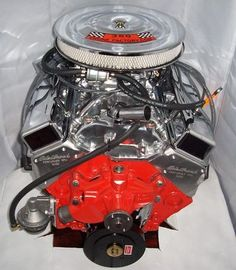 Chevy 305 engines chevy orange - Google Search