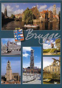PK1268. Brugge. Belgien.