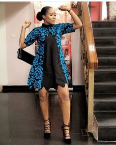 A collection of the best and Latest Casual African Ankara Styles. These casual ankara styles and casual ankara designs were specifically selected for your taste of casual ankara styles African Fashion Ankara, African Inspired Fashion, African Print Fashion, Short African Dresses, African Print Dresses, African Prints, African Blouses, African Attire, African Wear