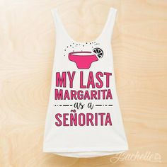 These adorable neon bachelorette shirts are perfect to get your party started! Spending your bachelorette party at the beach? A girls weekend in Mexico? We've got you covered. These tanks are super so