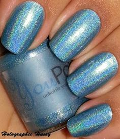 Holographic Hussy: You Polish Teal We Meet Again