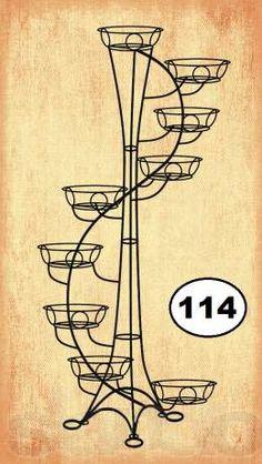 Подставка для цветов для девяти кашпо Ялта - изображение 2