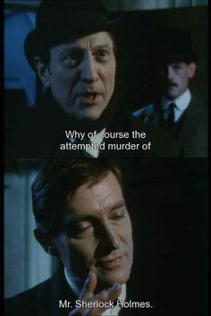 Sherlock and Lestrade