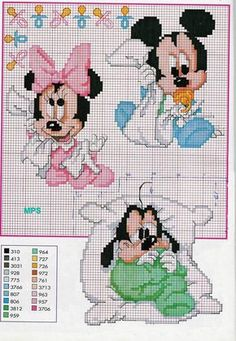 Sandrinha Ponto Cruz: Completando a postagem dos Disney Baby!