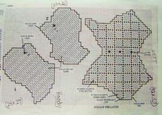 snowman flake 3-5 plastic canvas pattern