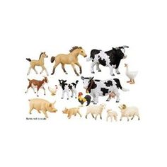 Farm Animal Set; 12 Piece Set; no. SF-280329