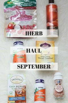 iHerb Haul September + $5 Off iHerb Coupon Code