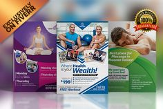 design a Beauty, Wedding, Spa, Gym Flyer or Poster by graphicdawn