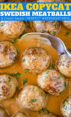 We loved these Swedish Ikea Meatballs so much we made them twice in two weeks!
