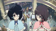 Another, Misaki Fujioka and Misaki Mei went shopping Fanart, Vocaloid, Another Misaki Mei, Good Anime To Watch, Otaku, Magical Warfare, Vampire Knight Zero, Scary, Creepy