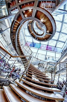 """""""Leipziger Buchmesse"""" - photo by Wolfgang Voigt, via 500px; in Leipig, Germany ; taken with a fisheye lens"""