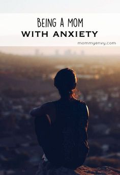 Being a mom with anxiety. Ideas on how I cope with anxiety that comes with being a parent.