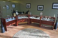 """Another one of our store display case projects turned out a success: """"Showcases arrived and look fantastic. Great job! I had construction taking place so we placed them inside, unwrapped to check for potential damage as you suggested and then wrapped them back up to keep the dust off. Really pleased, Ed. Thank you! Again thank you and great job. I'll let you know when everything is ready for photos."""""""