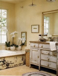 Very Rustic Bathroom