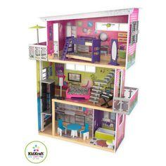 Cases de nines on pinterest modern dollhouse dollhouses for Casa moderna kidkraft