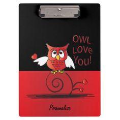 Owl Love You | DIY Name Clipboard - diy gifts cyo creative personalize