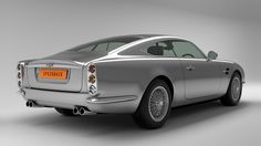 David Brown Automotive. A modern take on the classic British Grand Tourer, the Speedback GT. Under the sculpted aluminum hood is a 510 hp 5.0L V8 Jaguar engine that'll get the car from 0-60 in 4.8 seconds, not too slow nor too fast, but just the right amount of power you want in a proper GT. The car also plays host to a split tailgate that has a fold-out picnic seat for those times you want to pull to the side of the road and enjoy the coastline views from one of the best seats in the house.