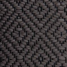 Diamond Twill, blue grey on the black yarn Vandra Rugs Yarn Colors, Natural Linen, Woven Rug, Merino Wool Blanket, Scandinavian Design, Paddle, Floor Rugs, Wool Felt, Carpets