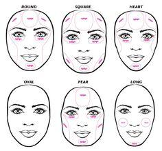 Makeup Contouring Techniques   COntour and highlightng tips   Makeup/Nails