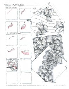 meringue tangle pattern - Google Search