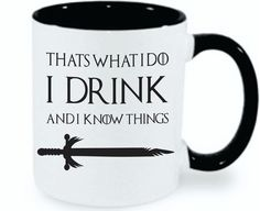 This Game of Thrones mug says it all!