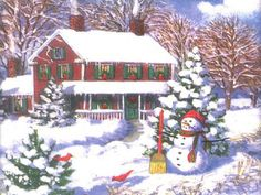 Winter Scene (6) (154 pieces)